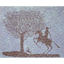 Female Quixote by Stephen Chambers RA at Kip Gresham Editions