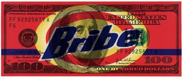 Money Laundering by Steven Gagnon at Vertu Fine Art