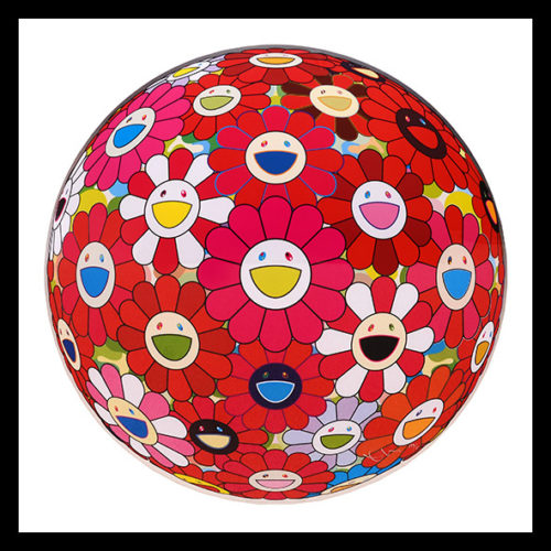 Comprehending The 51st Dimension. by Takashi Murakami