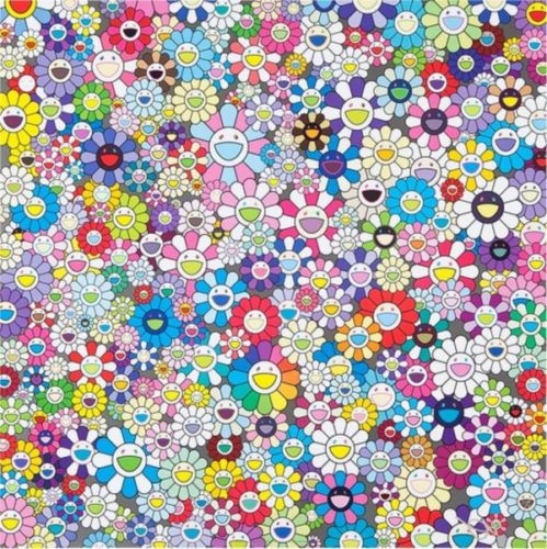 Shangri-la, Shangri-la, Shangri-la by Takashi Murakami at Lougher Contemporary