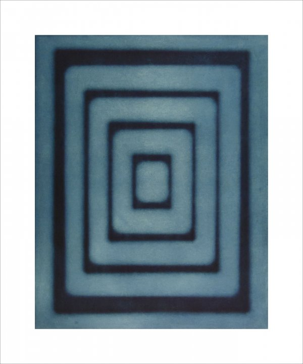 Untitled (concentric Rectangles) by Ted Kincaid