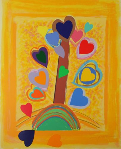 The Love Tree by Terry Frost at