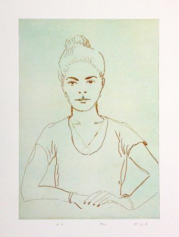 Carla by Thomas Schütte at Serpentine Gallery