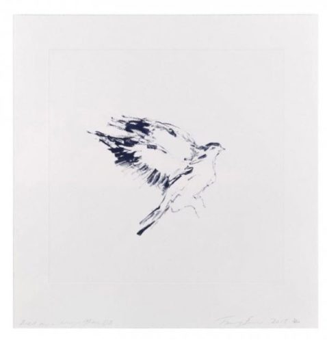 Bird On A Wing After Db by Tracey Emin at Lieberman Gallery
