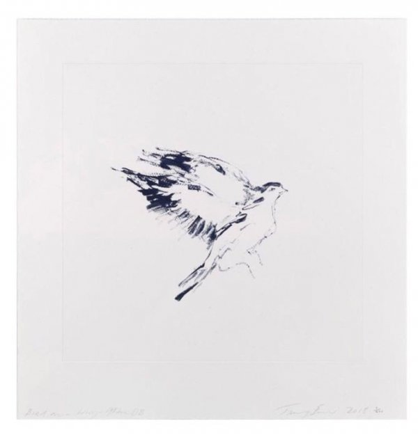 Bird On A Wing After Db by Tracey Emin RA