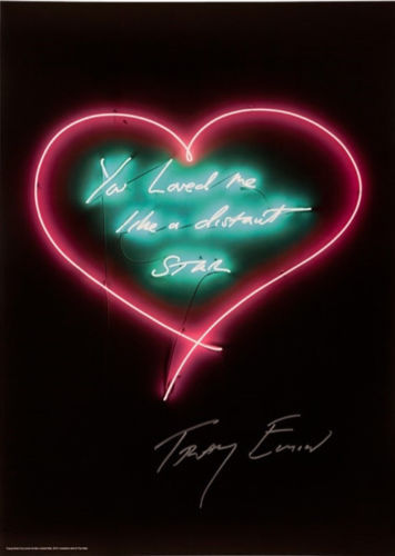 You Loved Me Like A Distant Star by Tracey Emin RA