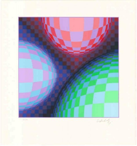 Phoenix Constellation by Victor Vasarely