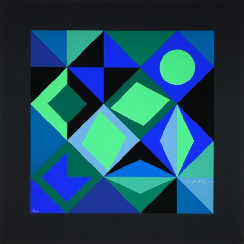 Sicra by Victor Vasarely