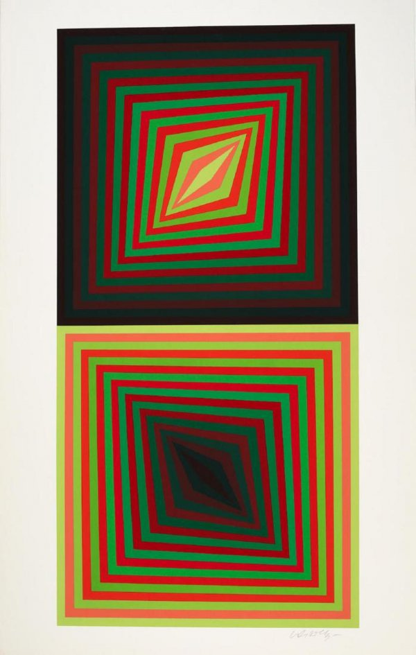 Usteok by Victor Vasarely