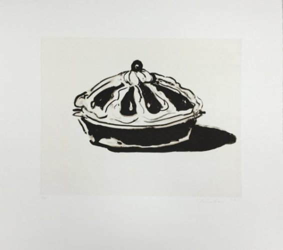 Crown Tart by Wayne Thiebaud at