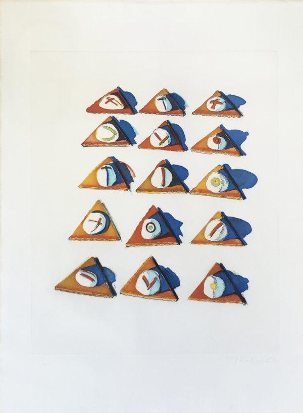 Triangle Thins by Wayne Thiebaud