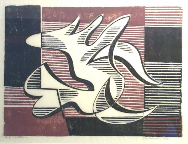 Apparition by Werner Drewes at William Chambers Art