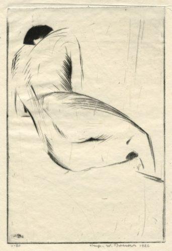 Figure Study Nº 1 by Werner Drewes