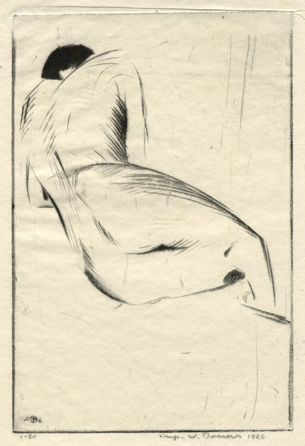 Figure Study Nº 1 by Werner Drewes
