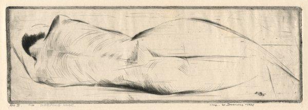 Figure Study Nº 3 by Werner Drewes