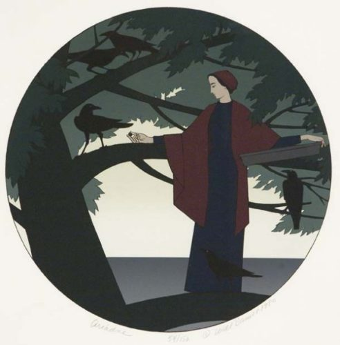 Ariadne by Will Barnet at ebo Gallery