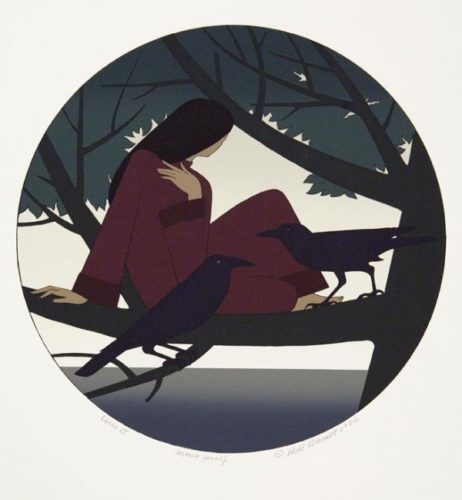 Circe Ii (deluxe Edition) by Will Barnet at ebo Gallery