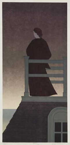 Dawn by Will Barnet at ebo Gallery