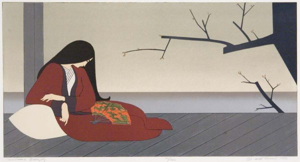 Madama Butterfly by Will Barnet