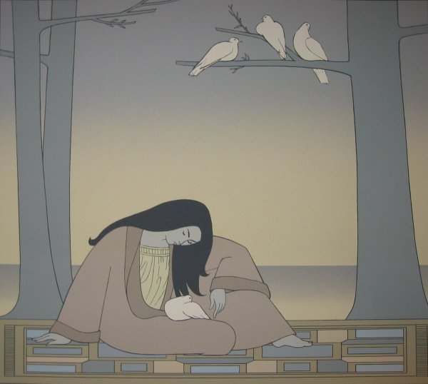 Paean by Will Barnet