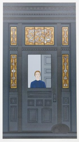 The Doorway by Will Barnet