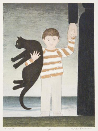 The Walk by Will Barnet at ebo Gallery