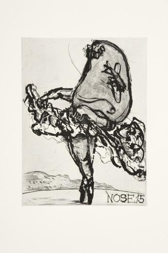 Nose 15 by William Kentridge