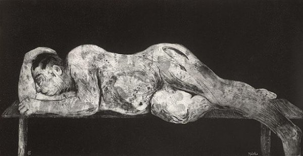 Sleeper – Black by William Kentridge