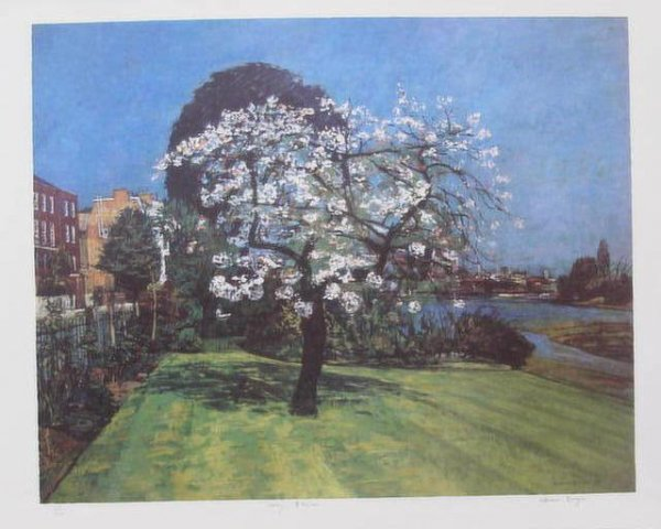 Cherry Blossom by William Bowyer at