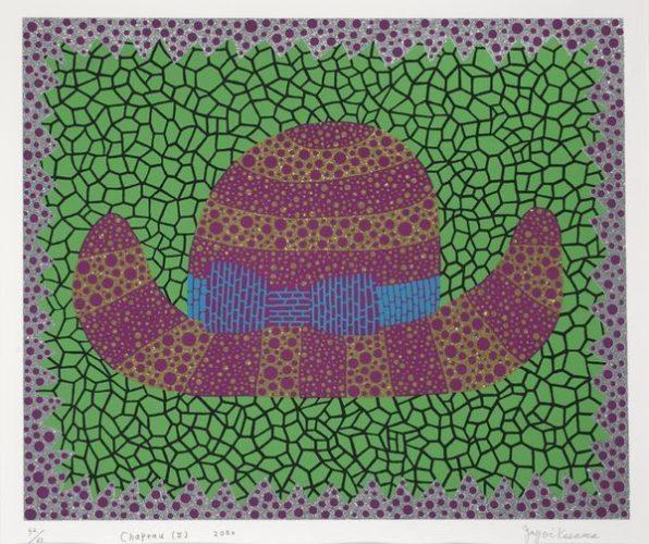 Chapeau by Yayoi Kusama at