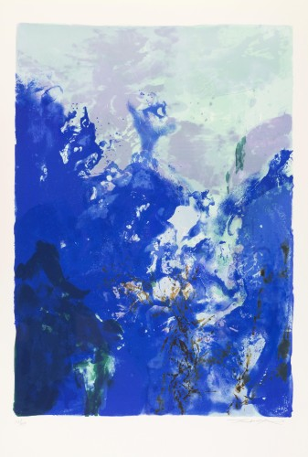 Composition 358 by Zao Wou-ki at