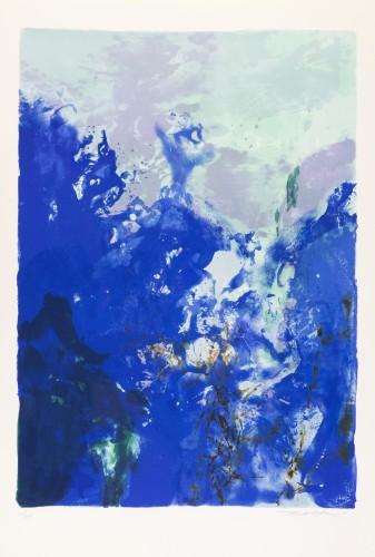 Composition 358 by Zao Wou-ki