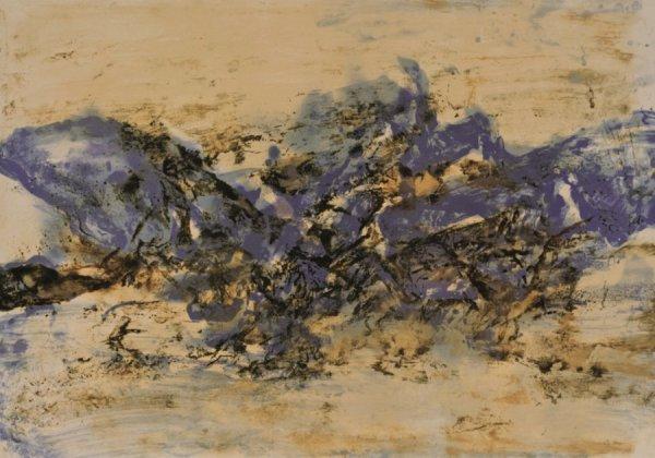 Untitled by Zao Wou-ki at