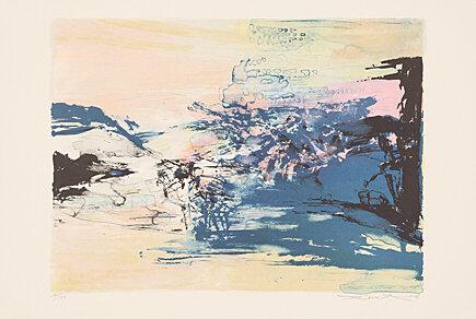 Ohne Titel by Zao Wou-ki