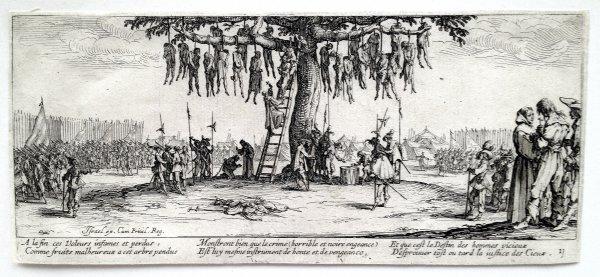 Les Grandes Misères De La Guerre by Jacques Callot at