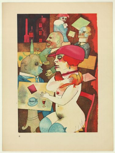 Ecce Homo by George Grosz at