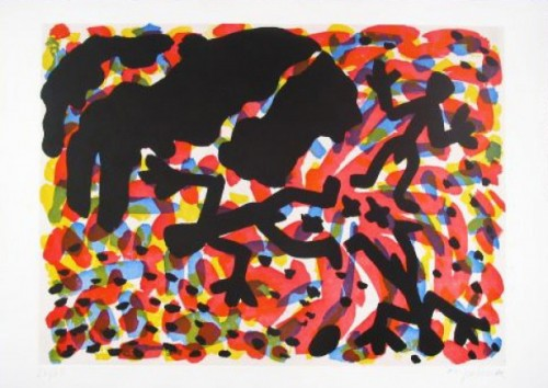 Berlin Blatt Vii by A.R. Penck at www.kunzt.gallery