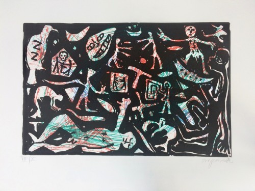 Untitled (black Figures Ii) by A.R. Penck at www.kunzt.gallery