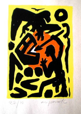 Untitled 2 by A.R. Penck at www.kunzt.gallery