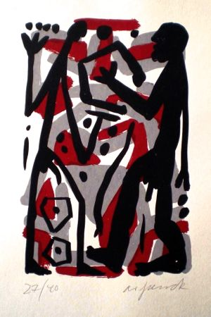 Untitled 3 by A.R. Penck at www.kunzt.gallery