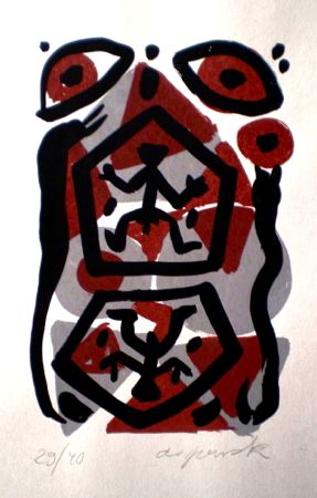 Untitled 5 by A.R. Penck at www.kunzt.gallery
