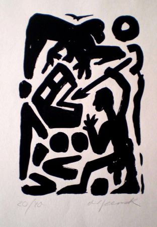 Untitled 6 by A.R. Penck at www.kunzt.gallery