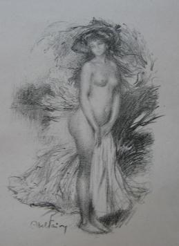 Baigneuse by Abel Faivre at