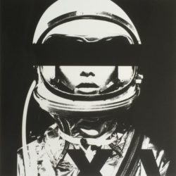 Astronaut Monochromie by Abidiel Vicente & Houssein Jarouche Vicente at Taglialatella Galleries
