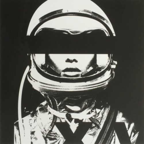 Astronaut Monochromie by Abidiel Vicente & Houssein Jarouche Vicente at Taglialatella Galleries