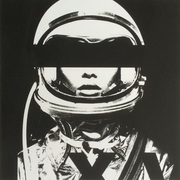 Astronaut Monochromie by Abidiel Vicente & Houssein Jarouche Vicente