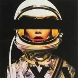 Astronaut Quadricrhomie by Abidiel Vicente & Houssein Jarouche Vicente at Taglialatella Galleries