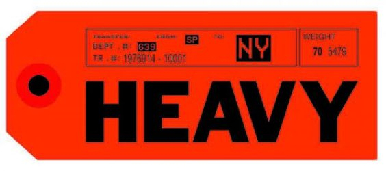 Heavey (orange) by Abidiel Vicente & Houssein Jarouche Vicente at Taglialatella Galleries