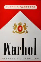 Warhol (red) by Abidiel Vicente & Houssein Jarouche Vicente at Taglialatella Galleries