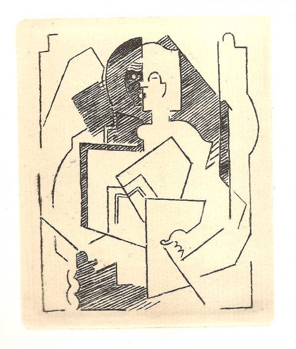 Pascal. Pensées Sur L'homme Et Dieu (restrikes Of 22 Etchings) by Albert Gleizes